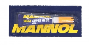 KLEJ SUPER GLUE MANNOL GEL 3G
